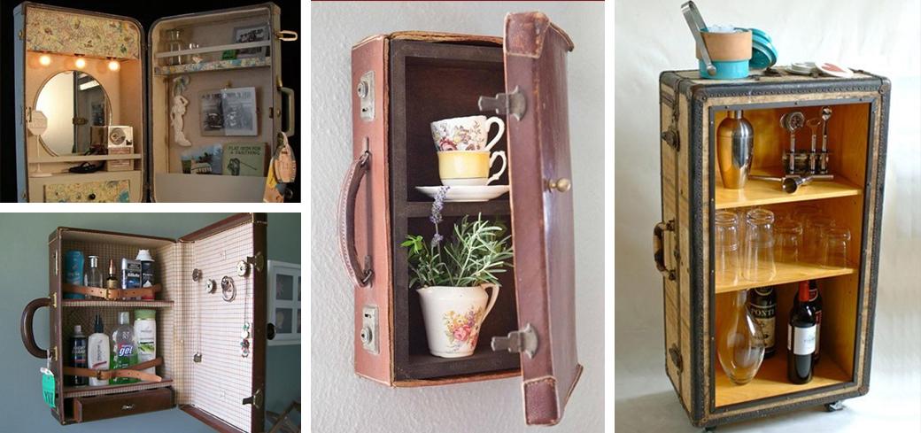 шкаф из чемодана