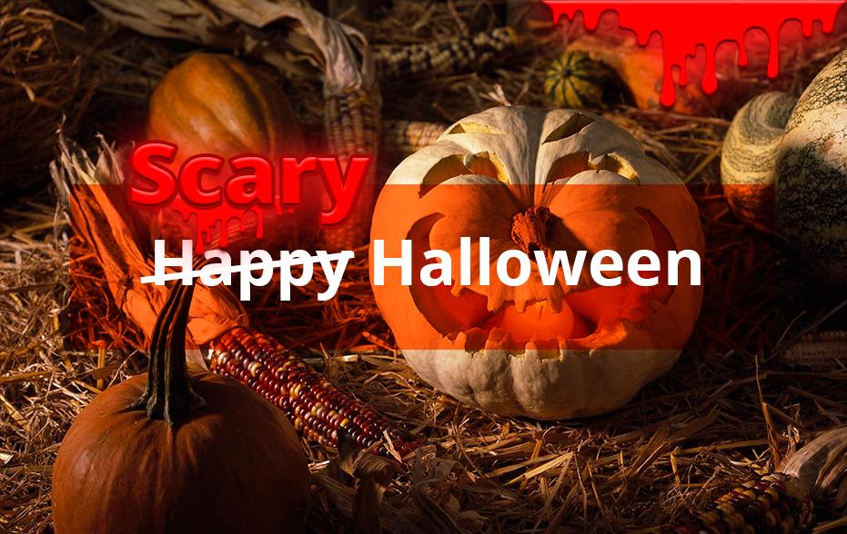 Страшного Хэллоуина
