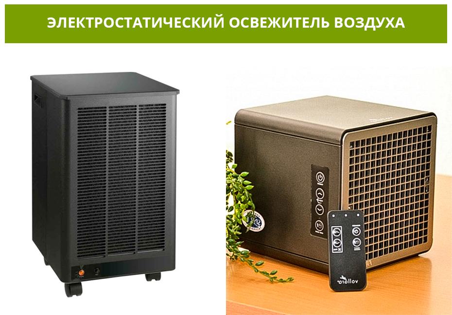 Электростатический освежитель воздуха