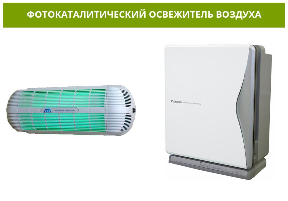 Фотокаталитические очистители воздуха