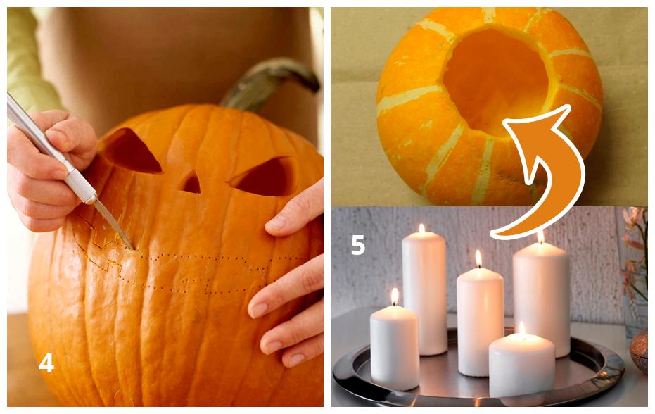 Делаем тыкву на Хэллоуин