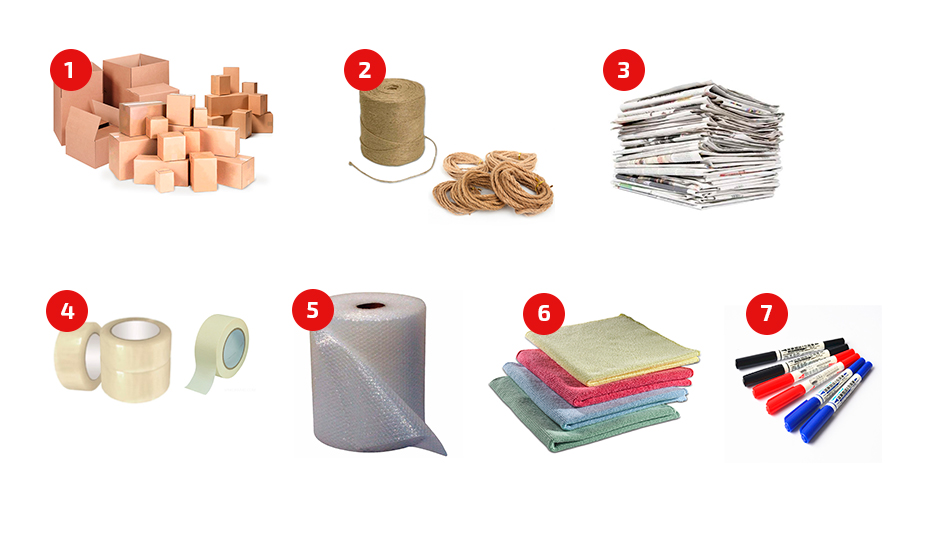 Материалы для упаковки