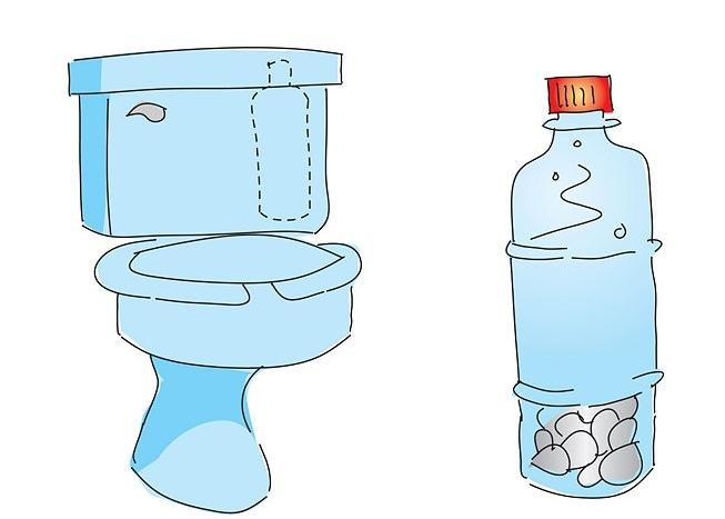 Экономим воду в туалете