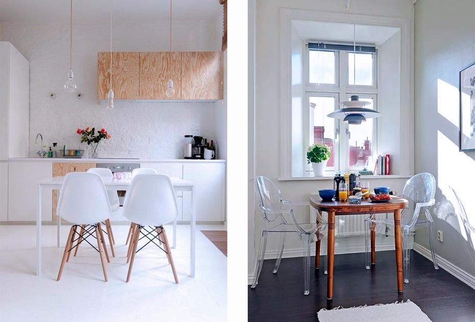 мебель на кухне без текстиля
