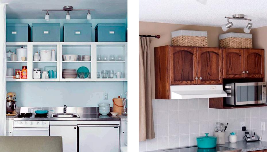 ящики на кухонном гарнитуре