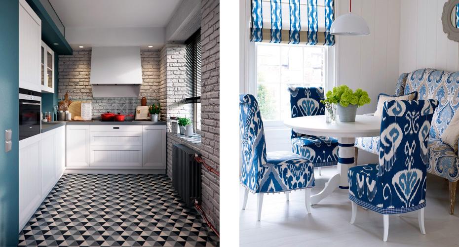 кухня и гостиная